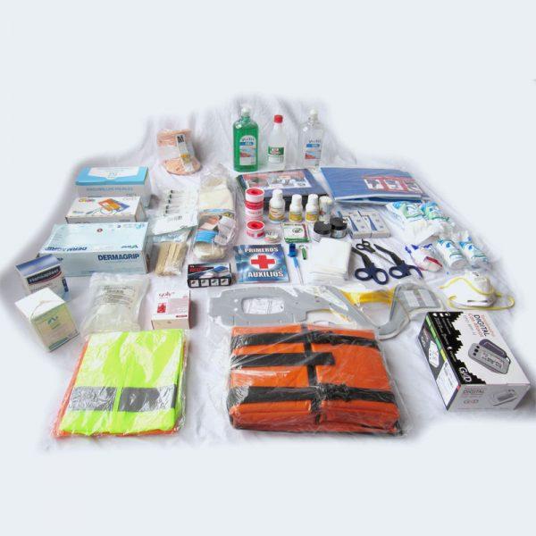 suministros botiquines primeros auxilios